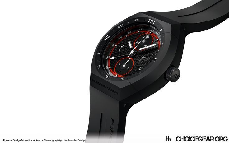 Awesome Porsche: The Porsche Design Timepieces AG utilized technology transfer from the world of ...  Watches & Chronographs