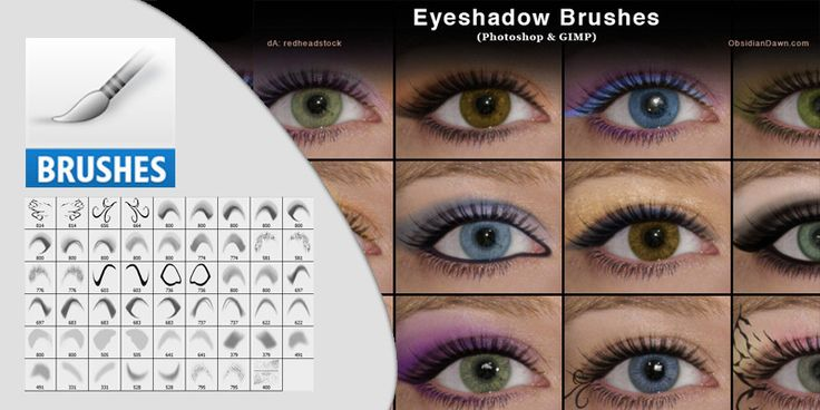 Eyeshadow Photoshop Photoshop Hobby