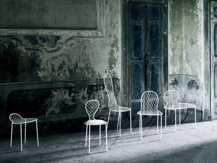 Sedia in rete FAMILY CHAIRS Collezione Family by Living Divani   design Junya Ishigami
