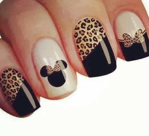 Uñas con diseño de leopardo                                                                                                                                                                                 Más