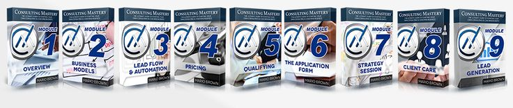 With 'Consulting Mastery' you can literally start creating revenue TODAY and I show you everything step by step, including how to become an expert in any niche within 48 hours. Quick warning though, I sell 'Consulting Mastery' for $997 and only during this instance special can you grab it for next to nothing but once the countdown timer hits zero, this opportunity is gone.