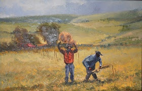 Daniel Novela, amazing artist from Mozambique.