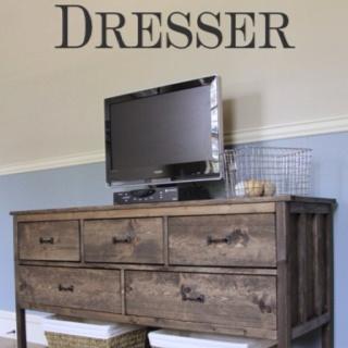 Shanty2chik DIY dresser