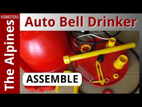 How to Assemble an Automatic Bell Drinker for Broiler Chickens