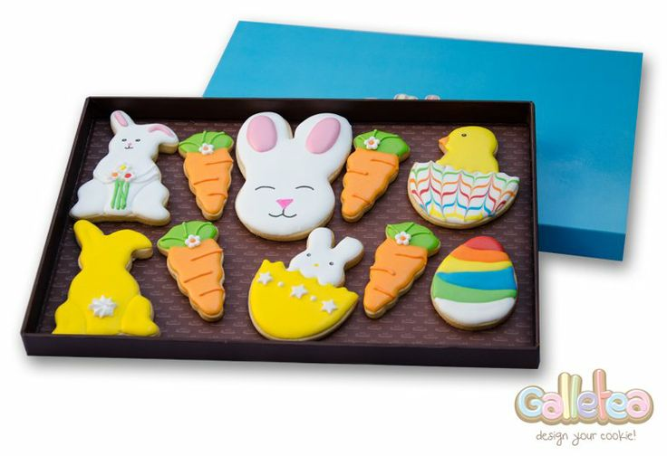 Pack grande especial Pascua en amarillo:http://www.galletea.com/galletas-decoradas/