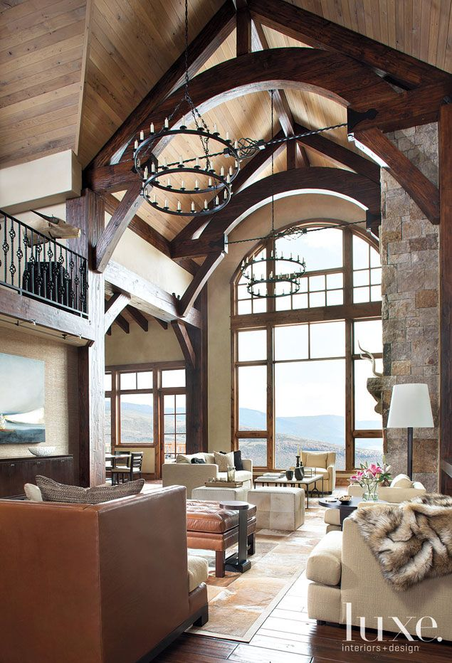This Home In Vail Valley Remodeled By Architect Eric Johnson Captures A Ski Lodge