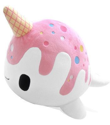 Kawaii plush toys Tasty Peach Studios — Nomwhal Plush Preorder ahhh cute!!