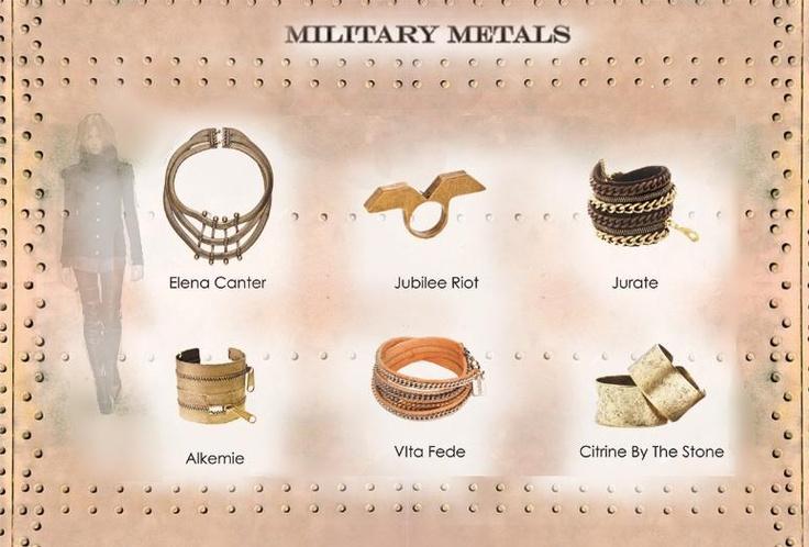 Military Metals!