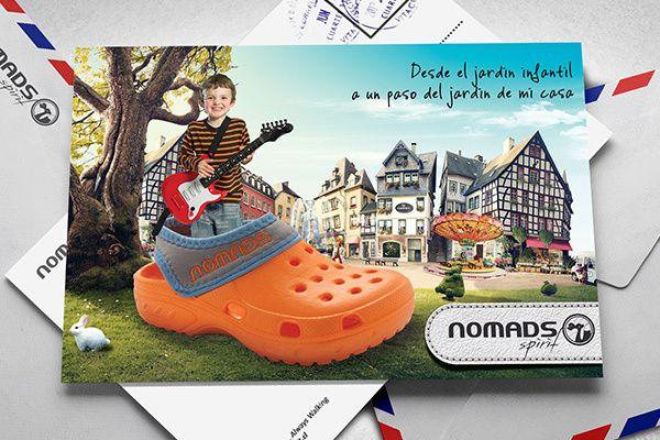 Nomads Spirit - Always Walking by Lhuis, via Behance