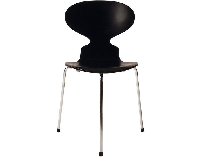 """This is one of his well known creations called """"The Ant"""" chair. This chair came out in 1952. This was the chair that helped him make a breakthrough into the design world and would be known in the history of furniture."""