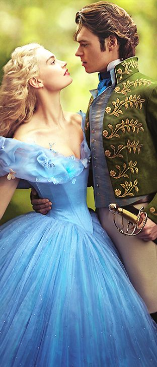 Lily James & Richard Madden in 'Cinderella' (2015). So cute I can't even handle it.