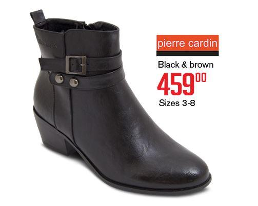 Pierre Cardin boots.