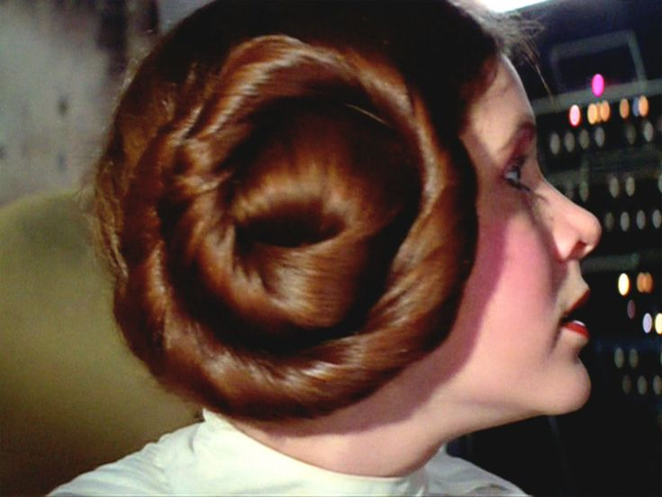 princess leia hair carrie fisher - Google Search
