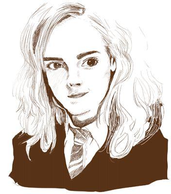 owabirdBlog: 今年もめげずにハーマイオニーさんを描いてみてロン毛のお兄さんができたブログ