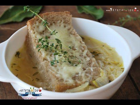 Supa de Ceapa - Reteta Video