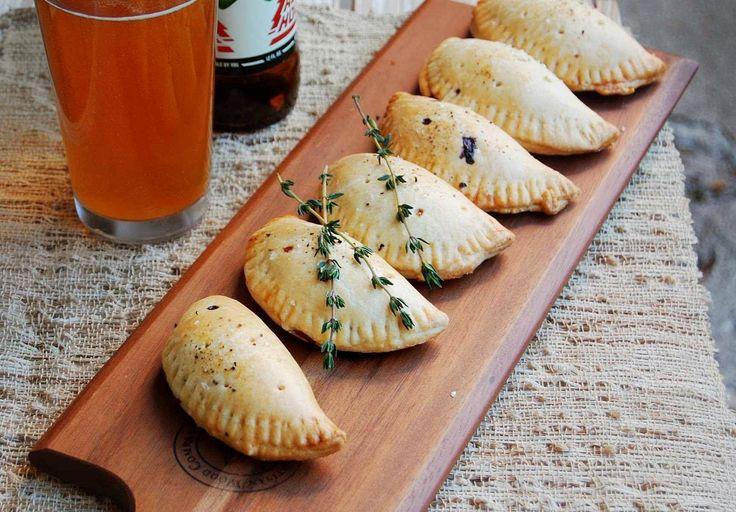 Mushroom, Gorgonzola, and Caramelized Onion Hand Pies Recipe - 10th Kitchen