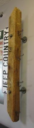 Barnwood Coat Hanger