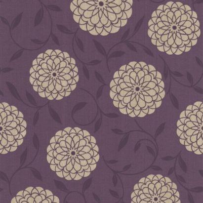 Colours Lola Plum Wallpaper 0000003862780 Gorgeous