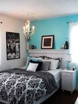Image result for bedroom ideas dark blue and white