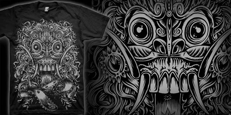 """LEAK"" t-shirt design by markusmanson"