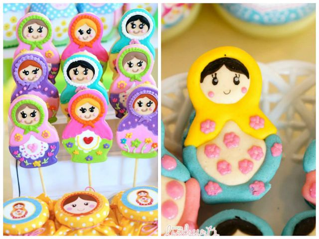 Party Inspirations: Matryoshka Birthday by Cupcakes Moments -  The Pops