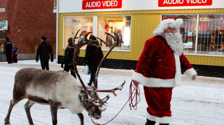 Tomten and Rudolf now rarely claim to be in shape during Christmas Christmas delivery.  PHOTO: LINDA DANHALL
