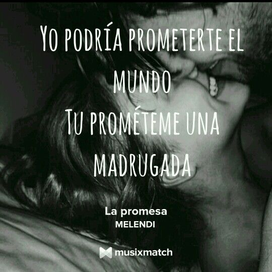La promesa - MELENDI