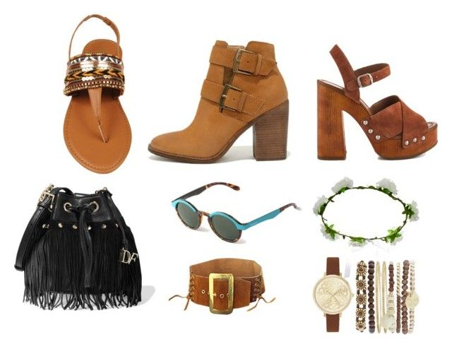 """boho3"" by nastyanotnoisy on Polyvore featuring мода, Steve Madden, Lucky Brand, Diane Von Furstenberg, Mr. Boho, Accessorize и Jessica Carlyle"