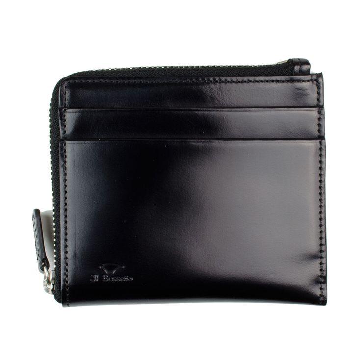 Il Bussetto - Zip wallet - Black