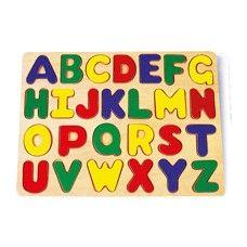 Puzzle para insertar ABC.