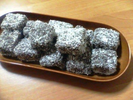 Hobbylka: Kokosové kostky