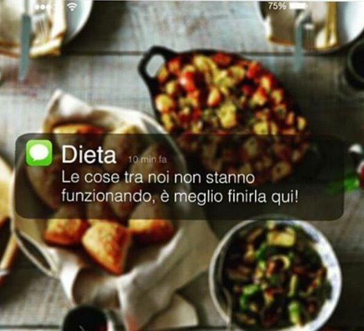 Hai un nuovo messaggio da Dieta