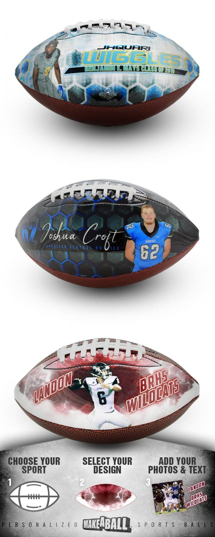 Looking For A Unique Football Gift Idea For A Player Team Parent Fan Or Coach It S So Easy Personalized Football Gifts Football Gifts Senior Football Gifts