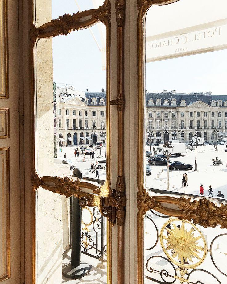 Place Vendome via Paris in Four Months