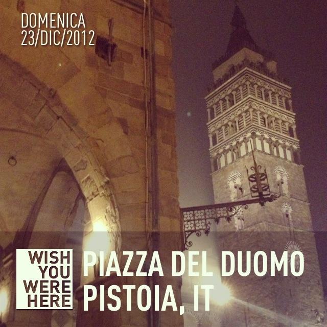 Piazza del Duomo Pistoia   @giamma72