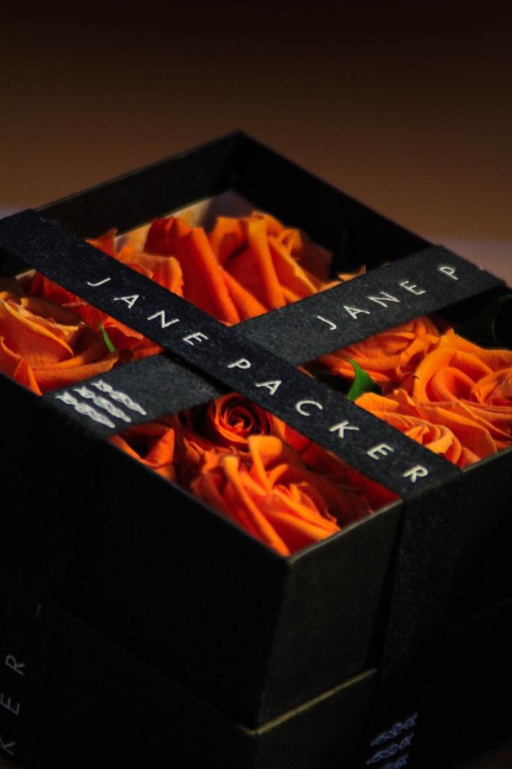 orange roses   preserved flower  jane packer
