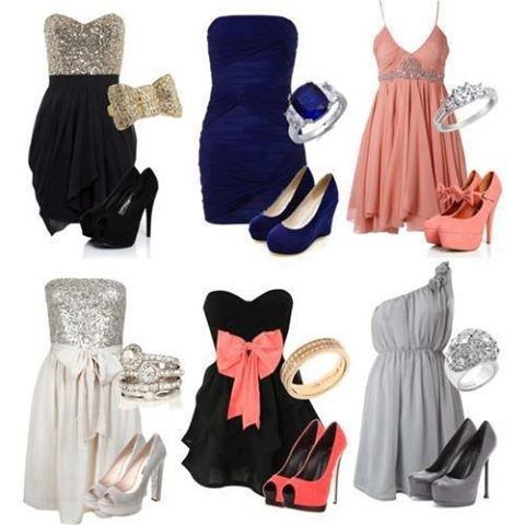adoro vestidos!!! add a little jacket to them