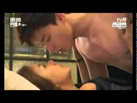 Park Seo Joon - witch's romance 2 - omg.. HOW do you kick THAT MAN out of your bed??!