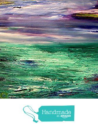 "30"" Original Paintings - abstract seascape by Mila from Mark Kazav Original…"
