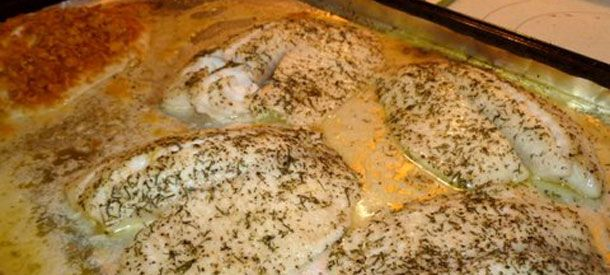 Baked Tilapia Recipe With Butter Lemon And Dill
