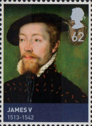 The birth of James V of Scotland (1513-1542)  on this day 10th April, 1512. He allied his country with France against the English. He became king at the age of 17 months