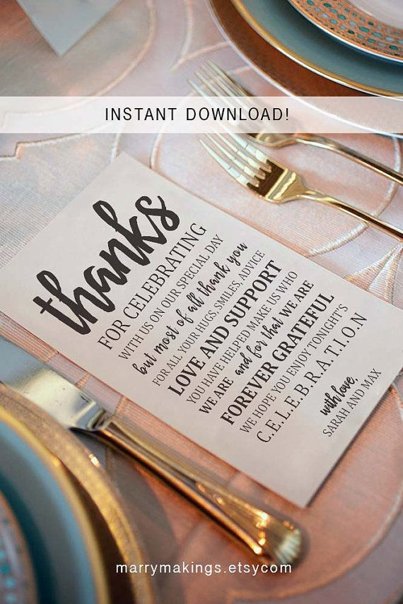 25 best ideas about thank you card template on pinterest thank