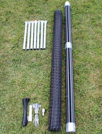 75u0027 x 100u0027 heavy duty deer fence kit
