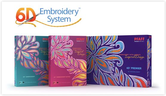 6d u2122 embroidery software