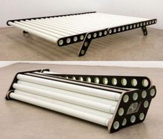 compact folding bed frame manufacturers note: I think I could build this using PVC pipe and make it a simple base for camping air mattress. I'd do one pipe that slides into another so it can be expanded to fit single to queen (maybe king?). I'd alternate the pipes in and out so one side isn't consistently lower than another. Lastly, I'd do a middle, sliding brace with legs that stick to one end or another - this would provide a rigid support spine.