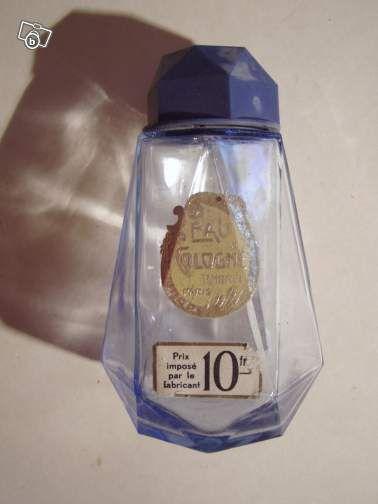Flacon ancien talc eau de cologne ambree paris #chrisdeparis flacon 6€