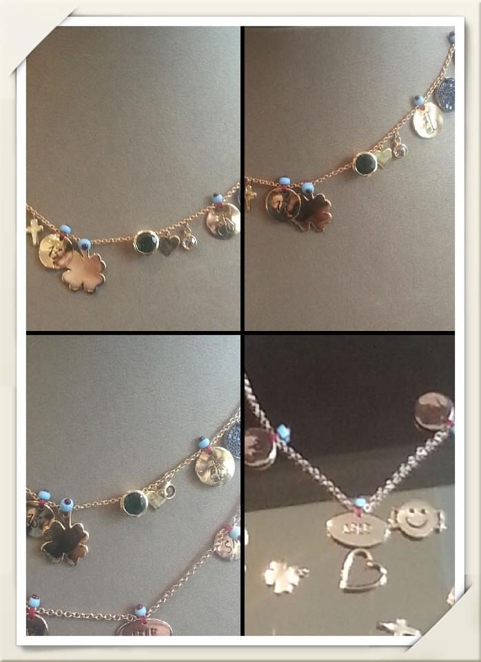 Love These Charm Necklaces Rose Gold Charms Jewelry