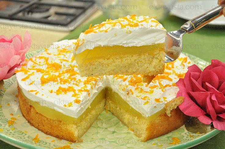 Portakallı Puf Pasta | Oktay Usta [ Resmi Web Sitesi ]