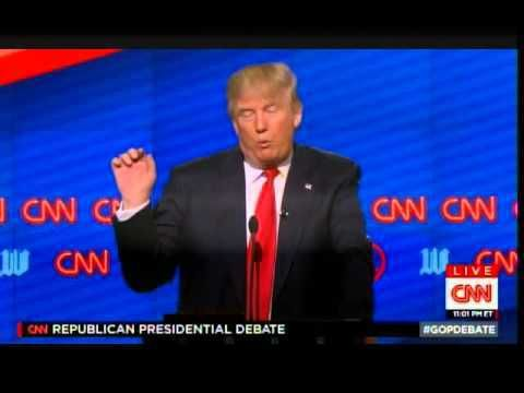 VIDEO: From last night's CNN debate. Trump is the clear choice in this race. He has brought millions of new Republicans to the party