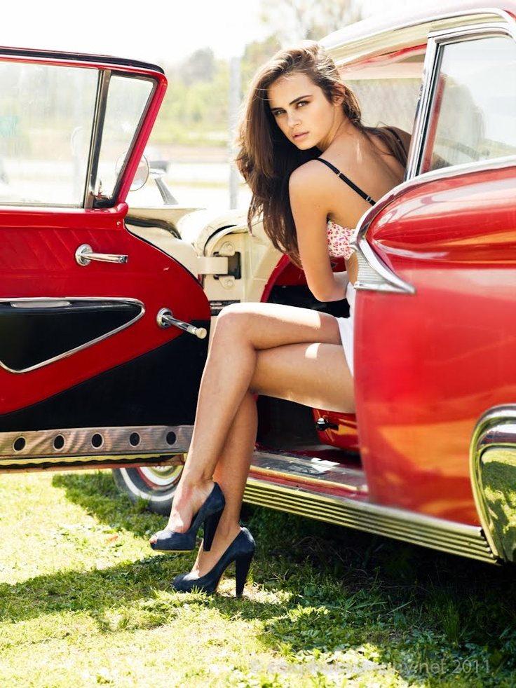 Vintage Classic Cars and Girls: Girls and Vintage Cars by Patrick Cox